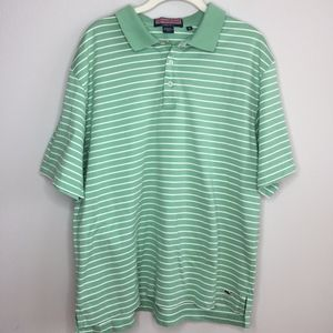 VINEYARD VINES Men's Striped Polo